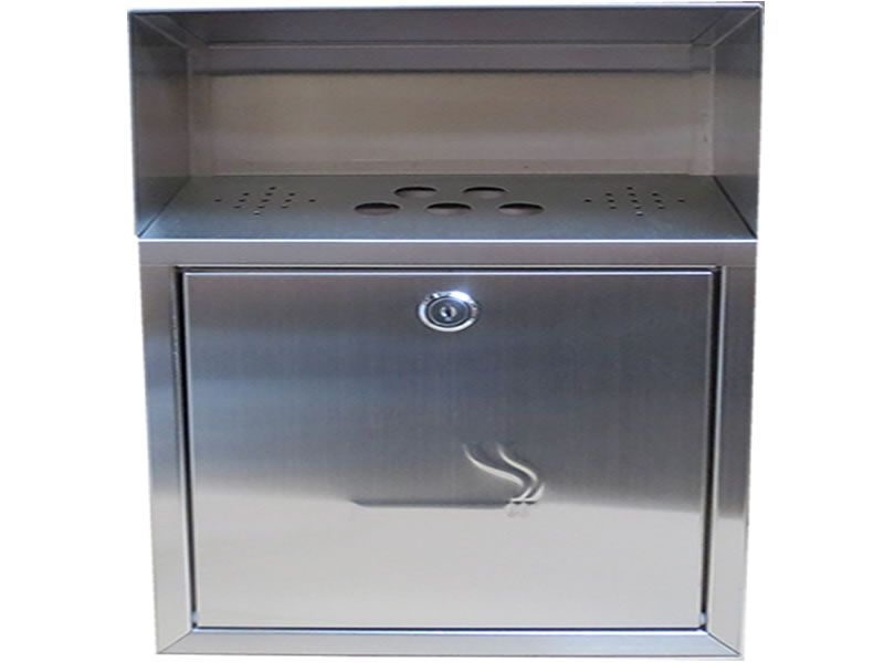 Buzz Wholesale Limited Uk Wall Mounted Cigarette Bin 002