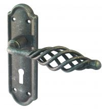 BLACK PEWTER LEVER LOCK