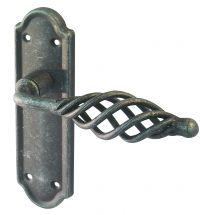 BLACK PEWTER LEVER LATCH