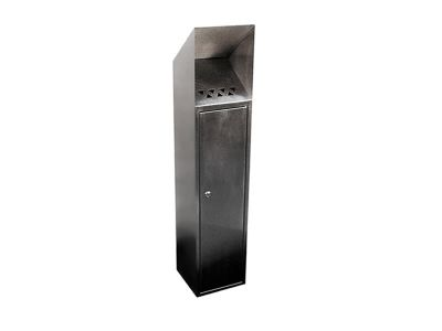 floor mounted cigarette bin 015