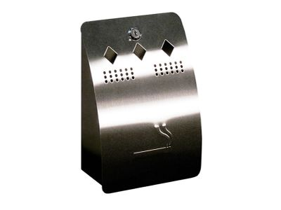 Wall mounted cigarette bin 005