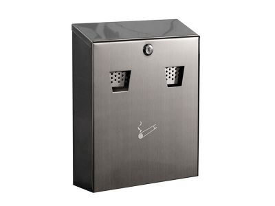 Wall mounted cigarette bin 007