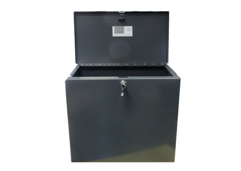 how to build a parcel drop box